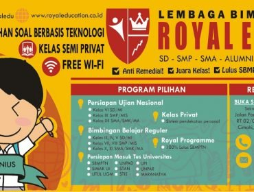 Profil Lembaga Bimbingan Belajar Royal Education